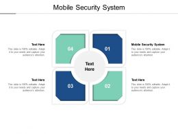 Mobile Security System Ppt Powerpoint Presentation File Backgrounds Cpb