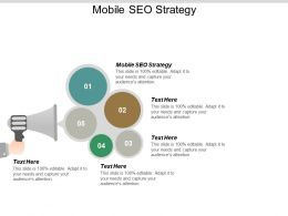 Mobile SEO Strategy Ppt Powerpoint Presentation Portfolio Deck Cpb