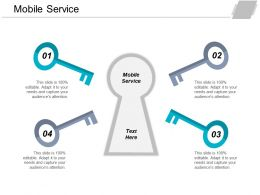 Mobile Service Ppt Powerpoint Presentation Professional Gridlines Cpb