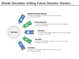 Mobile Simulation Editing Future Direction Solution Today Future Direction