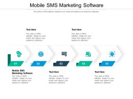 Mobile SMS Marketing Software Ppt Powerpoint Presentation Example Cpb