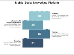 Mobile Social Networking Platform Ppt Powerpoint Presentation Professional Icons Cpb
