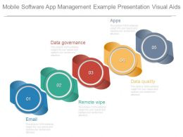 Mobile Software App Management Example Presentation Visual Aids