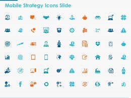 Mobile Strategy Icons Slide Marketing Ppt Powerpoint Presentation Icon Template