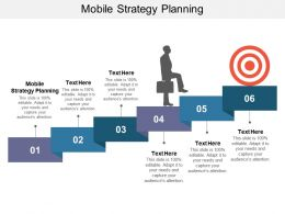 Mobile Strategy Planning Ppt Powerpoint Presentation Slides Pictures Cpb