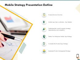 Mobile Strategy Presentation Outline Overview Ppt Gallery Inspiration
