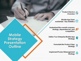 Mobile Strategy Presentation Outline Ppt Powerpoint Presentation Icon Templates