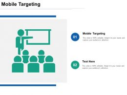 Mobile Targeting Ppt Powerpoint Presentation File Samples Cpb