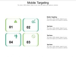 Mobile Targeting Ppt Powerpoint Presentation Summary Clipart Images Cpb