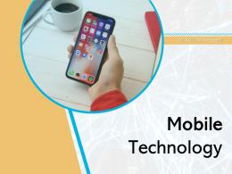 Mobile Technology Business Growth Marketing Strategy Communication