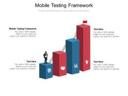 Mobile Testing Framework Ppt Powerpoint Presentation Outline Templates Cpb