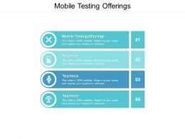 Mobile Testing Offerings Ppt Powerpoint Presentation Show Slides Cpb