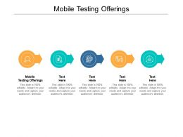 Mobile Testing Offerings Ppt Powerpoint Presentation Styles Slides Cpb