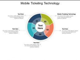 Mobile Ticketing Technology Ppt Powerpoint Presentation Slides Template Cpb