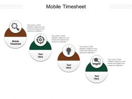 Mobile Timesheet Ppt Powerpoint Presentation Ideas Display Cpb