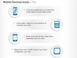 Mobile Touch Screen Voice Communication Ppt Icons Graphics