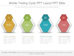 Mobile Trading Cycle Ppt Layout Ppt Slide