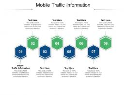 Mobile Traffic Information Ppt Powerpoint Presentation Infographics Graphics Design Cpb