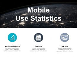 Mobile Use Statistics Ppt Powerpoint Presentation Gallery Layouts Cpb