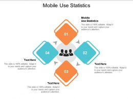 Mobile Use Statistics Ppt Powerpoint Presentation Ideas Files Cpb
