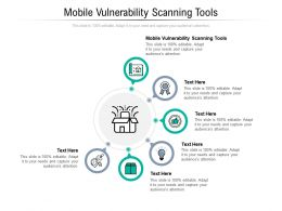 Mobile Vulnerability Scanning Tools Ppt Powerpoint Presentation Inspiration Rules Cpb
