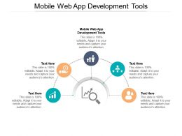 Mobile Web App Development Tools Ppt Powerpoint Presentation Outline Graphic Images Cpb