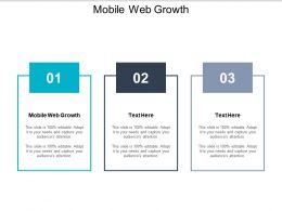 Mobile Web Growth Ppt Powerpoint Presentation Gallery Model Cpb