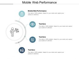 Mobile Web Performance Ppt Powerpoint Presentation Gallery Background Designs Cpb