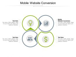 Mobile Website Conversion Ppt Powerpoint Presentation Styles Examples Cpb