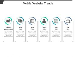 Mobile Website Trends Ppt Powerpoint Presentation Icon Inspiration Cpb