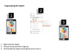 mobile_with_bar_graph_and_pie_graph_flat_powerpoint_design_Slide03