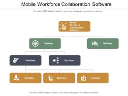 Mobile Workforce Collaboration Software Ppt Powerpoint Presentation Gallery Shapes Cpb