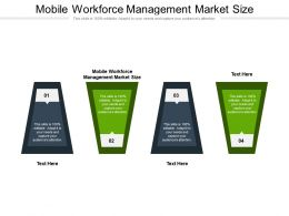 Mobile Workforce Management Market Size Ppt Powerpoint Presentation Slides Aids Cpb