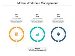 Mobile Workforce Management Ppt Powerpoint Presentation Portfolio Outline Cpb