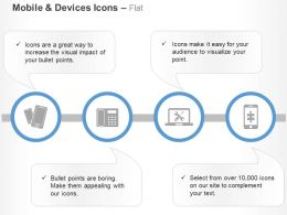 Mobiles Telephone Tools Technology Application Ppt Icons Graphics