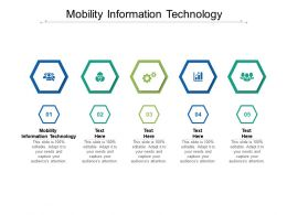 Mobility Information Technology Ppt Powerpoint Presentation Infographics Icons Cpb