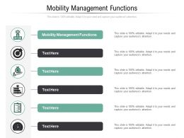 Mobility Management Functions Ppt Powerpoint Presentation Inspiration Vector Cpb