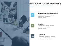 Model Based Systems Engineering Ppt Powerpoint Presentation Styles Slides Cpb