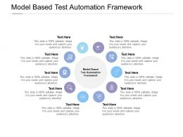 Model Based Test Automation Framework Ppt Powerpoint Presentation Infographic Template Cpb