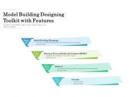 Model Building Designing Toolkit With Features