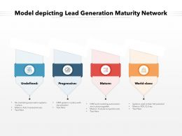 Model Depicting Lead Generation Maturity Network