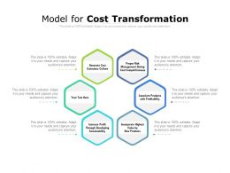 Model For Cost Transformation