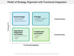 Model Of Strategy Alignment With Functional Integration