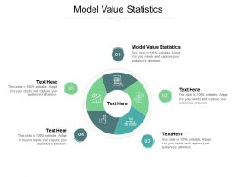 Model Value Statistics Ppt Powerpoint Presentation Infographic Template Show Cpb