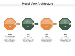 Model View Architecture Ppt Powerpoint Presentation Model Inspiration Cpb