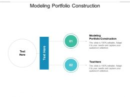 Modeling Portfolio Construction Ppt Powerpoint Presentation Download Cpb