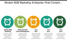 Modern B2b Marketing Enterprise Web Content Management Event Management Cpb