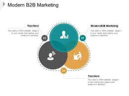 Modern B2B Marketing Ppt Powerpoint Presentation Slides Rules Cpb