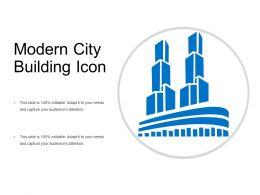 Modern City Building Icon