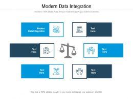 Modern Data Integration Ppt Powerpoint Presentation Summary Vector Cpb